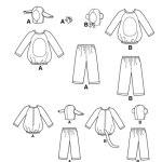 Выкройка Simplicity — Детский карнавальный костюм - S2068 ()