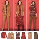 Выкройка Simplicity — Костюм: жакет, юбка, брюки - S2287 ()