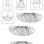 Выкройка Simplicity — Пачка (юбка), Украшения для малыша - S1956