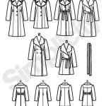 Выкройка Simplicity — Пальто - S2311 ()