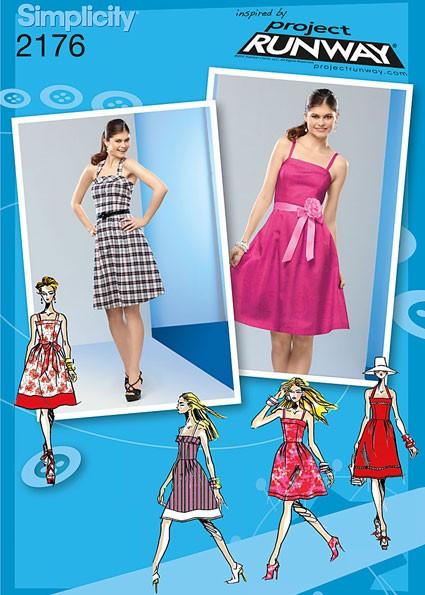 Выкройка Simplicity — Платье - S2176