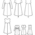 Выкройка Simplicity — Платье - S3833 ()