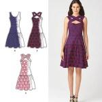 Выкройка Simplicity — Платье-Сарафан - S1607 ()