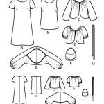 Выкройка Simplicity — Платье, Топ, Кофта, Сумка - S3533 ()