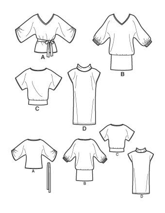 Выкройка Simplicity — Платье, Туника - S2804 ()