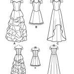 Выкройка Simplicity — Вечернее и свадебное платье - S1875 ()