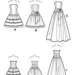 Выкройка Simplicity — Вечернее платье - S1655 ()