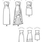 Выкройка Simplicity — Вечернее платье - S1656 ()