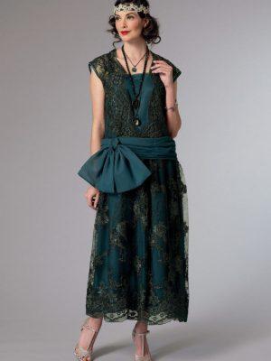 Выкройка Butterick — Историческое платье - B6399 - 14-22