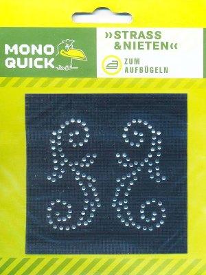 Термоаппликация Mono Quick (16486) – Якорь стразы