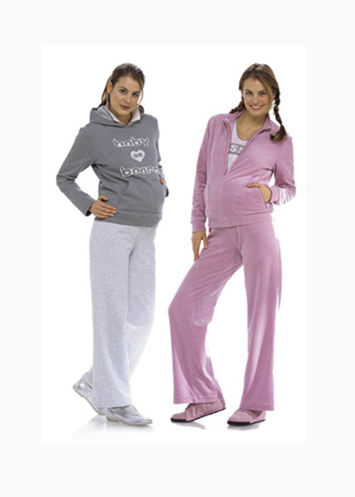 Выкройка спортивного костюма для беременных