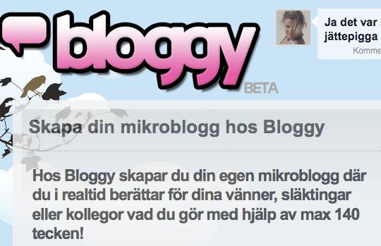Bloggy - ditt nya pr-verktyg?