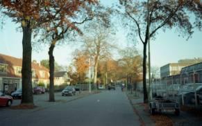 Soesterweg. Olympus Mju I met Lomography CN 100