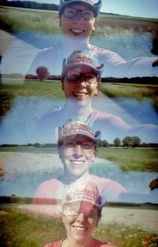 Lomography Supersampler II met Lomography F2 CN 400 film.