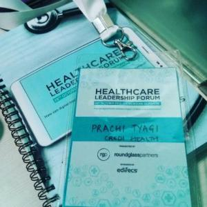 prachi tyagi healthcare forum