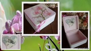 pudełko ze storczykiem