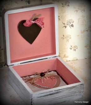 pudełko z serduszkiem