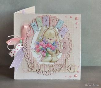 kartka na urodzinki dziewczynki