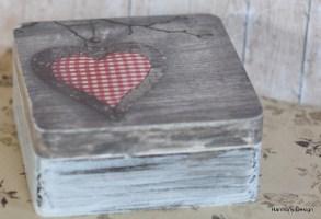 pudełko z sercem