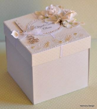 pudełko na chrzciny