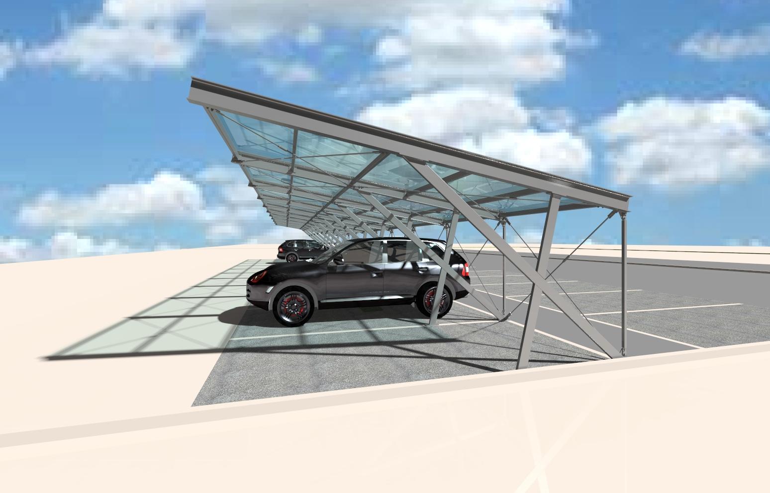 Zadaszenia modułowe – carports
