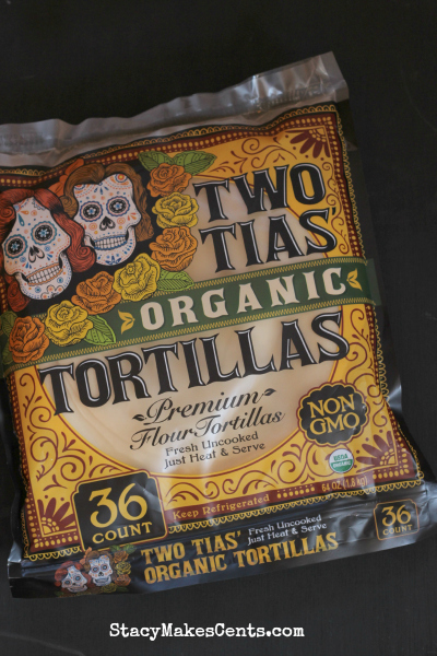 Two Tias Organic Tortillas