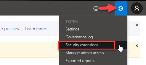 Security Extensions