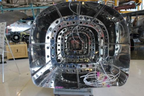 Interior view of the RV-12 empannage.