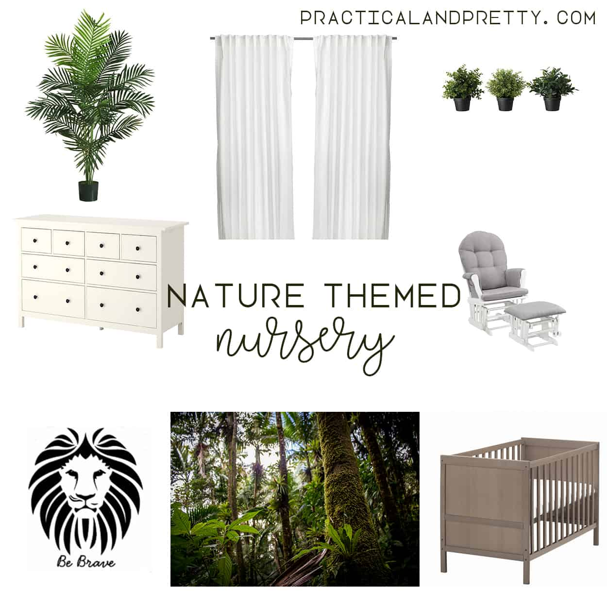 Nature Themed Nursery Ideas