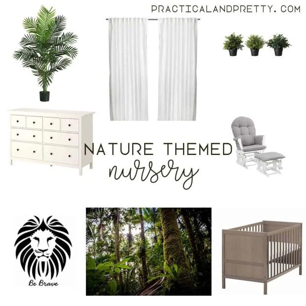 Natural nursery design inspiration