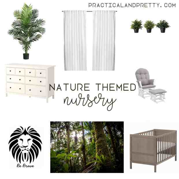 Natural nursery plan and inspiration