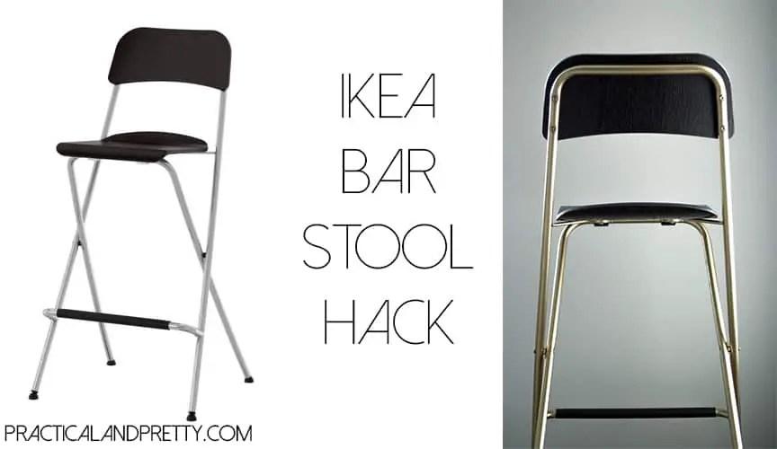 $40 Easy Ikea Bar Stool DIY