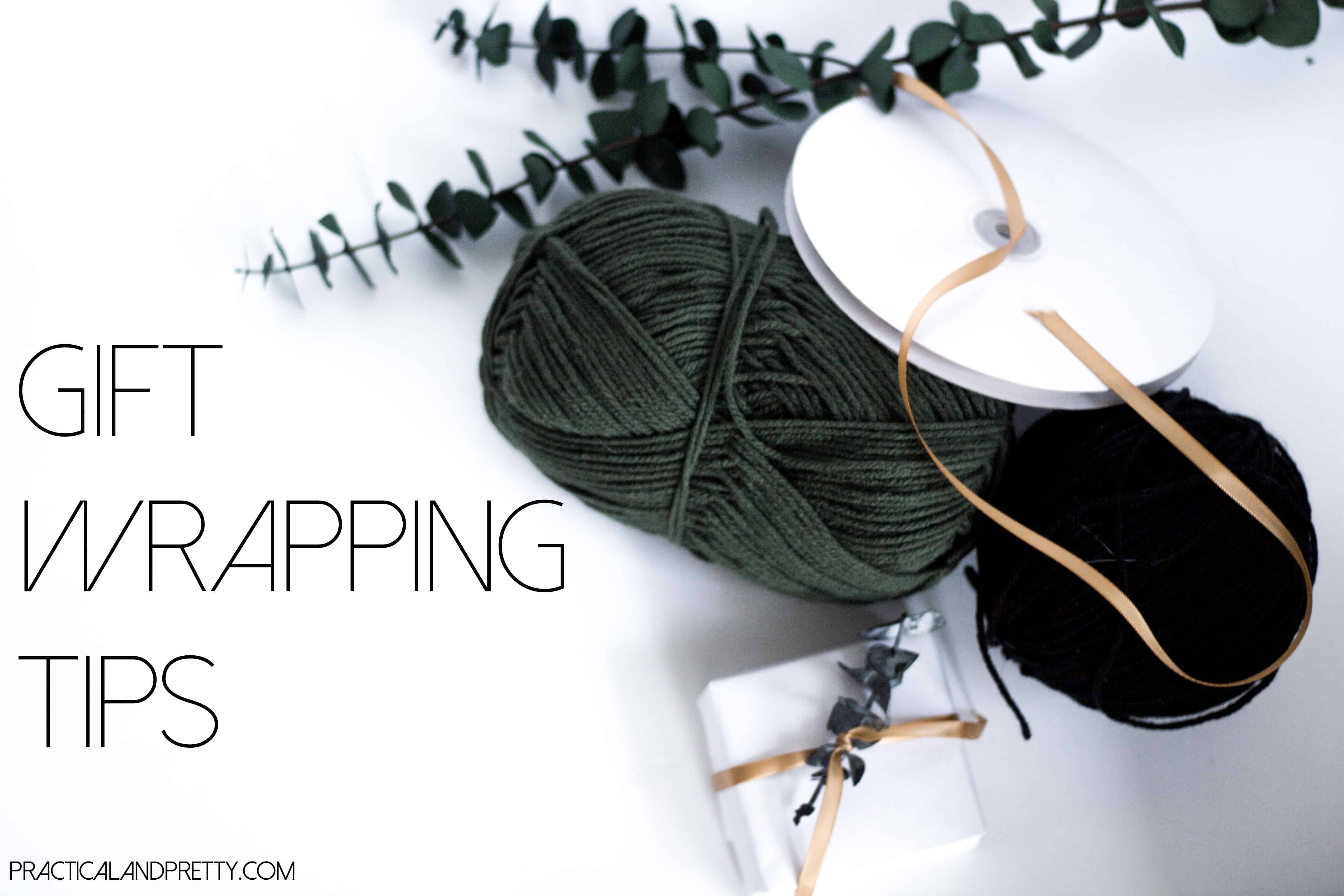 Simple Gift Wrapping Tips and Ideas