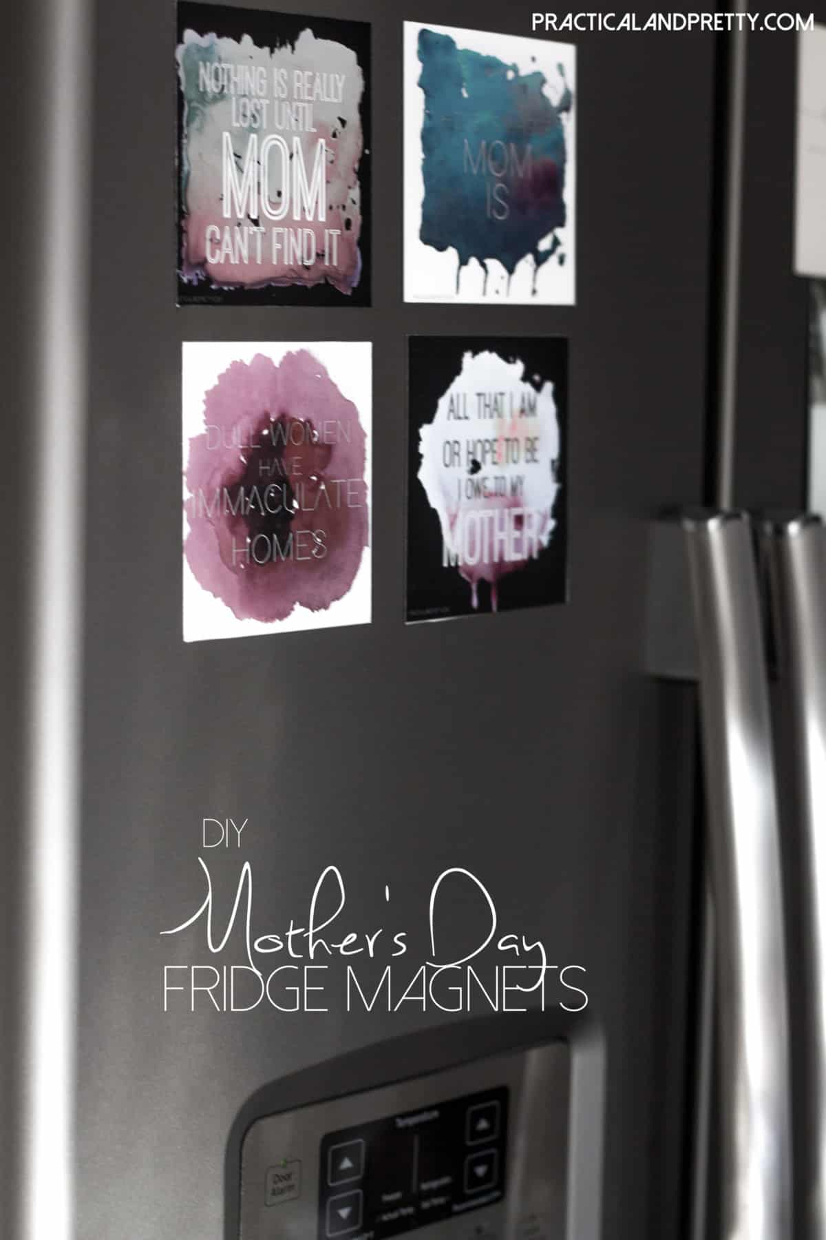 These DIY fridge magnets are the perfect little gift for any mother in your life.