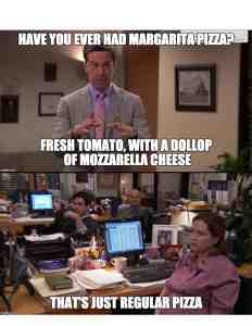 The Office is an awesome themed party idea because it's so inexpensive but so funny! See these memes for food ideas.