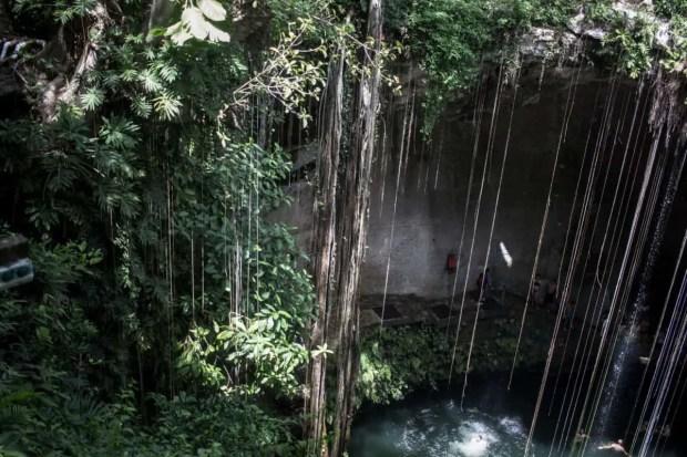 Cenote near Chichen Itza in Cancun! Such a beautiful place