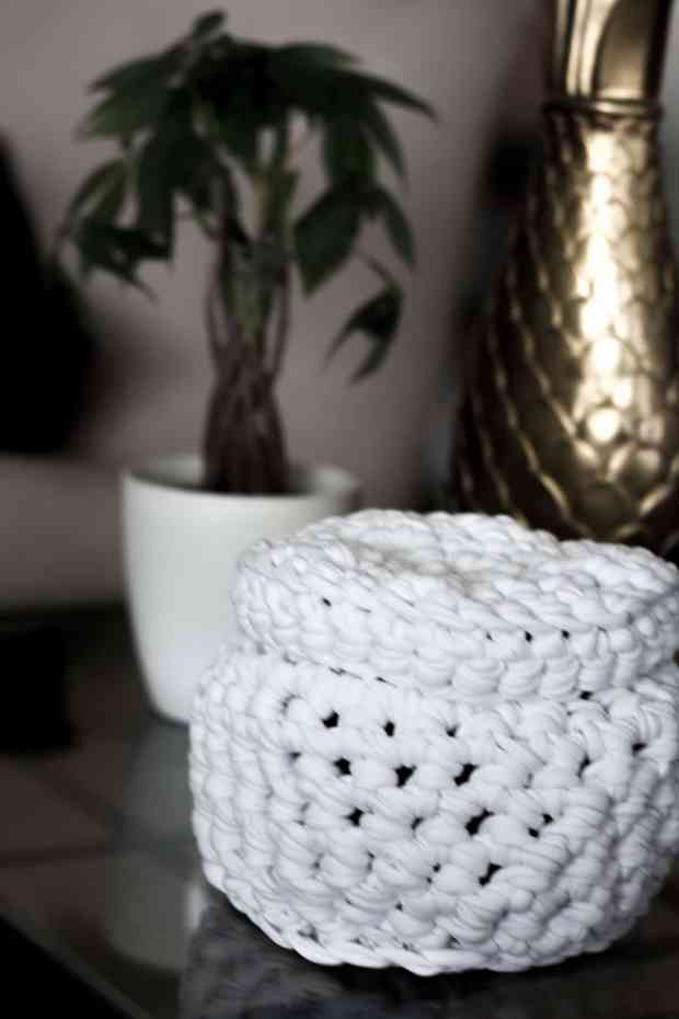 We Are Knitters makes crocheting this basket fool proof! They have a pattern, all the materials, and video tutorials for this useful little basket.