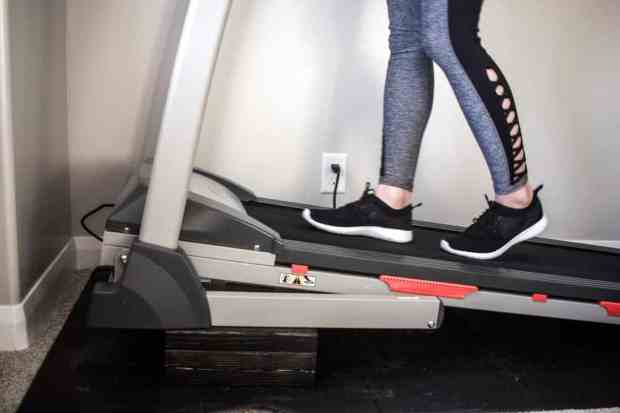 If you don't have the money to buy and expensive high incline treadmill you can make your inexpensive one incline with just a couple 2x4's!