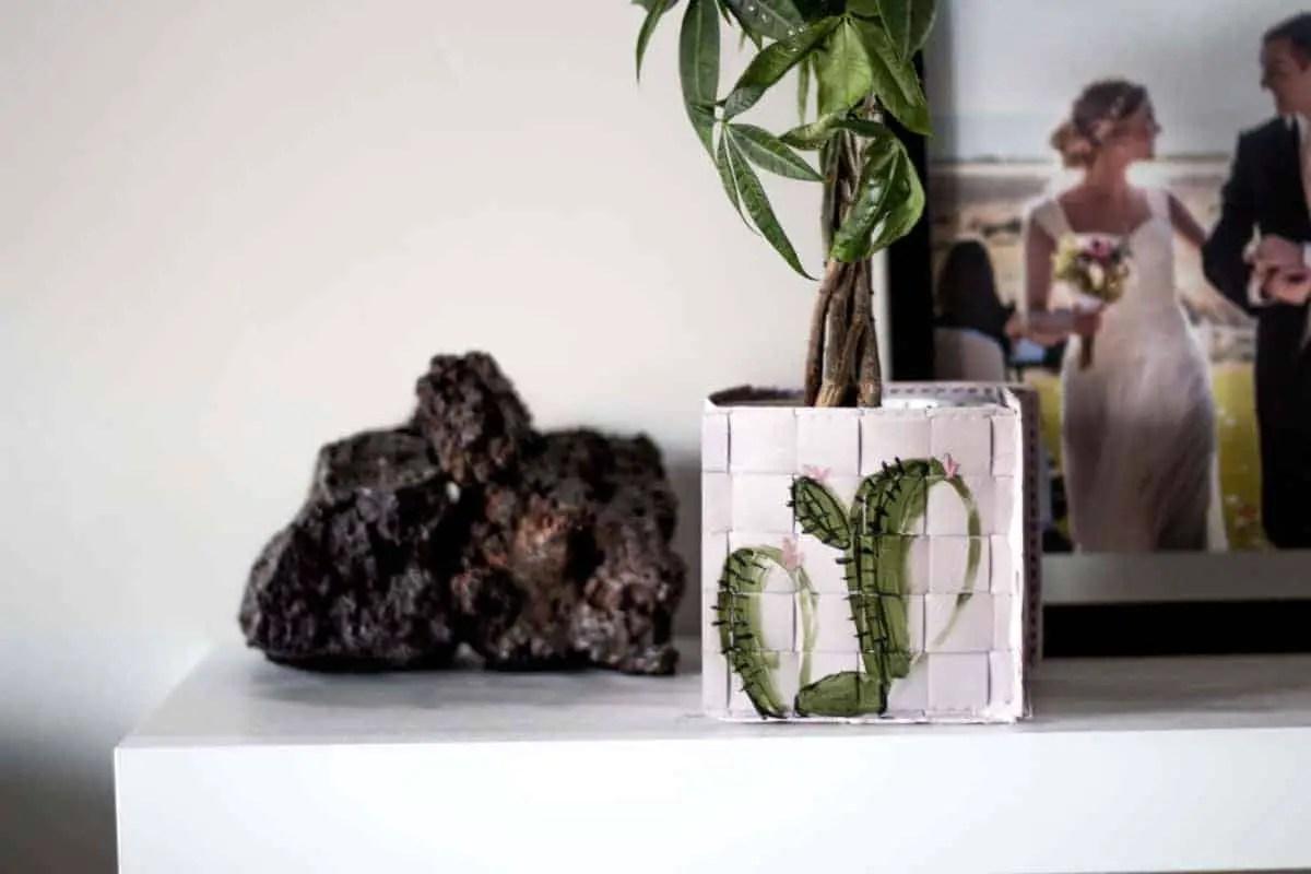 IKEA Coasters to Planter