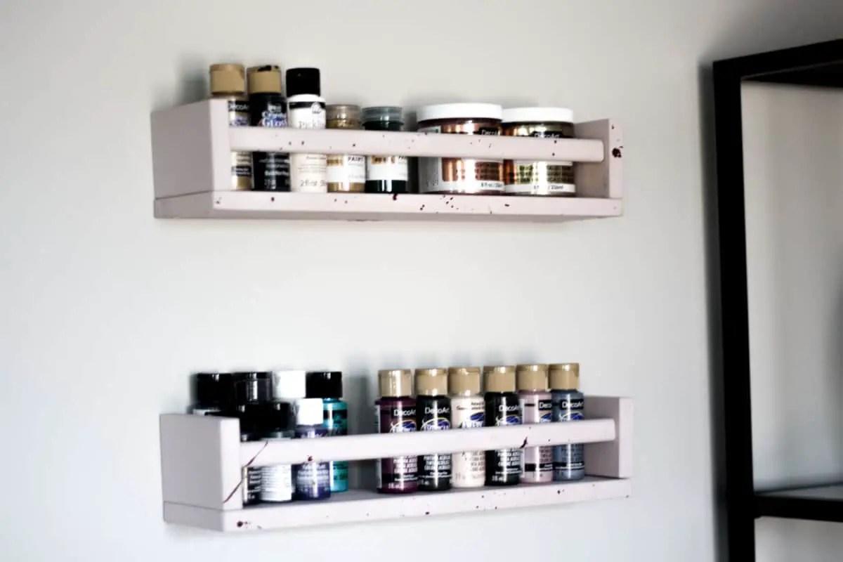 BEKVAM Spice Rack Makeover | Inspire My Creativity Link Party
