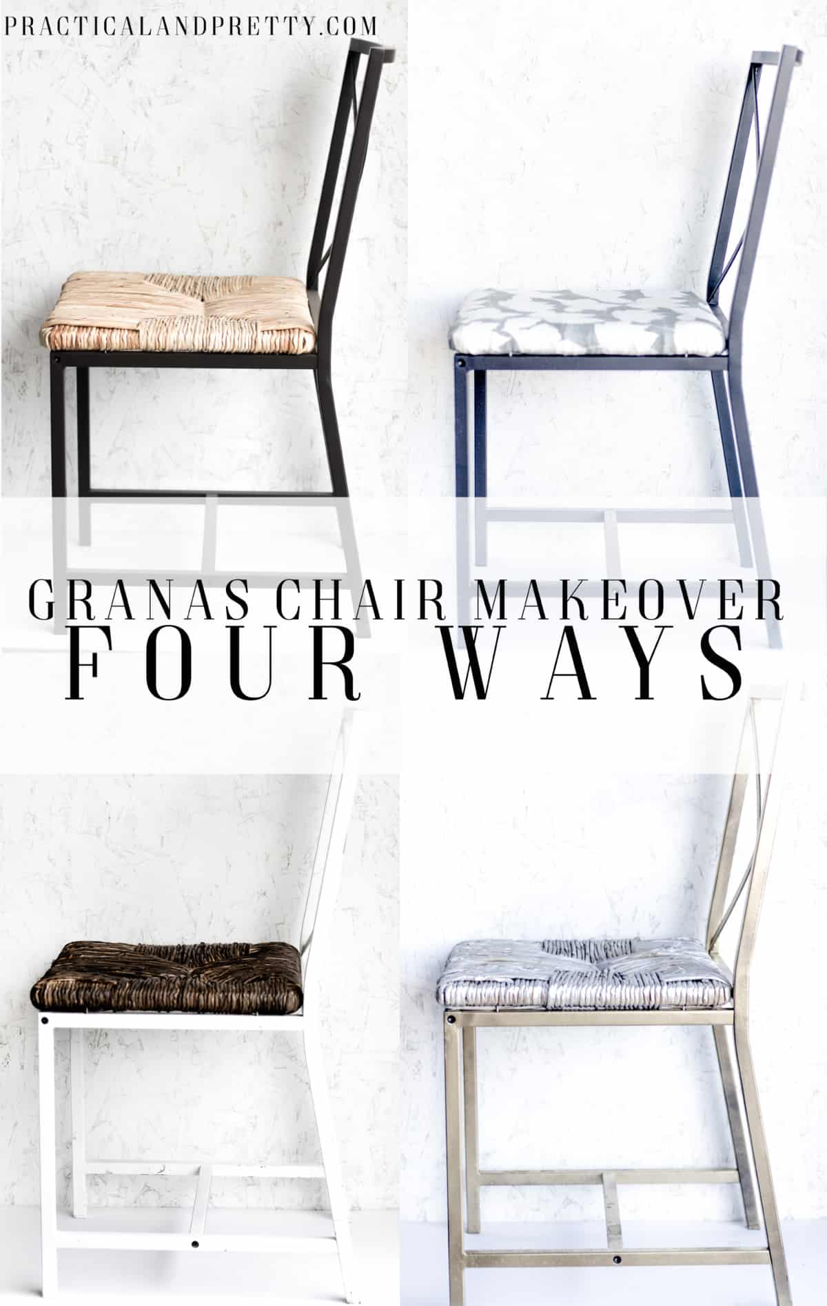 IKEA GRAN…S Chair Makeover 4 Ways Practical and Pretty