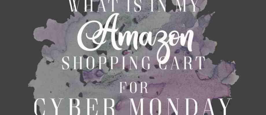 What's In My Cart for Cyber Monday