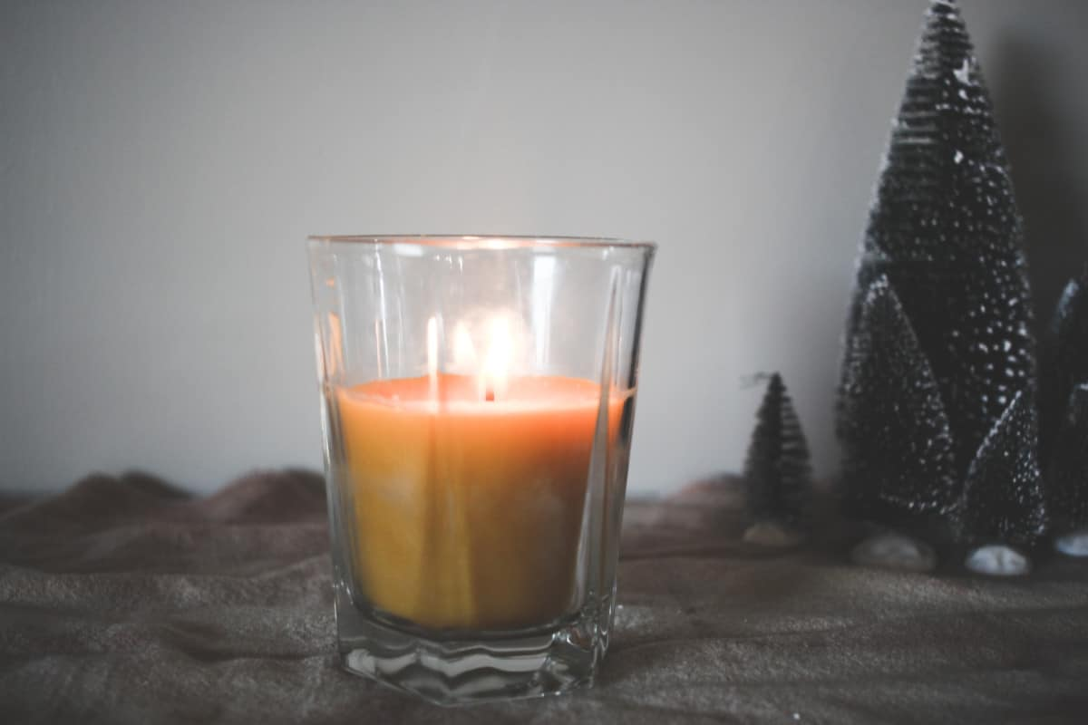 DIY Frankincense Candle