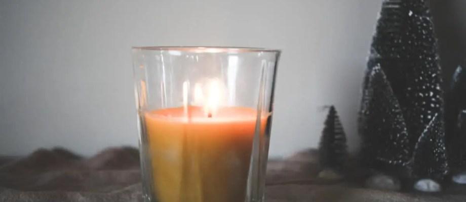 DIY Frankincense Candle