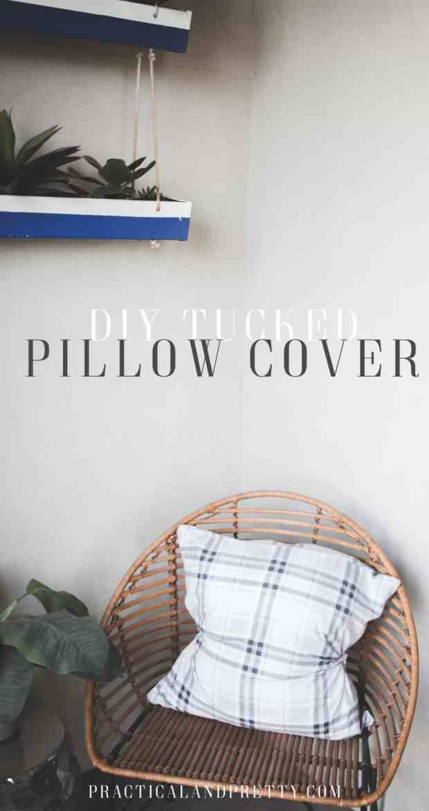 This tutorial is a no fail way to make your own pillows that don't need to be fluffed!