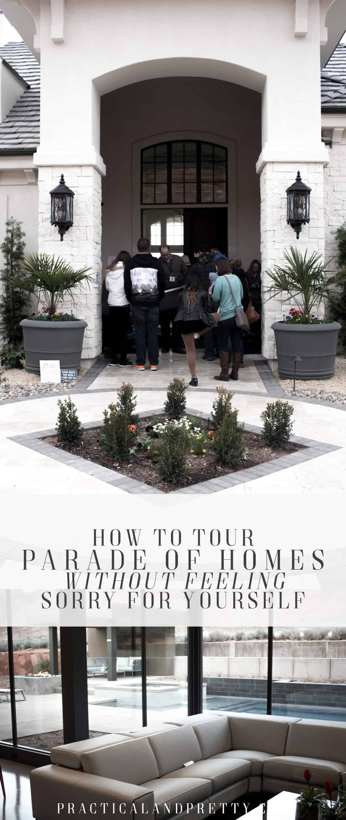 The Parade of Homes can be inspiring if you're in the right mindset. Here are a few tricks I use not to feel bad for myself while I tour the homes!