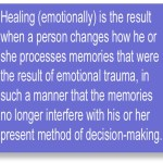 Healing Is A Conscious Decision