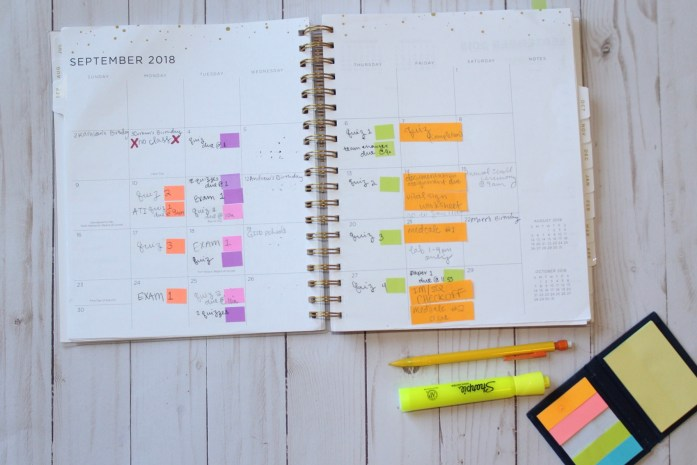 planner college organization