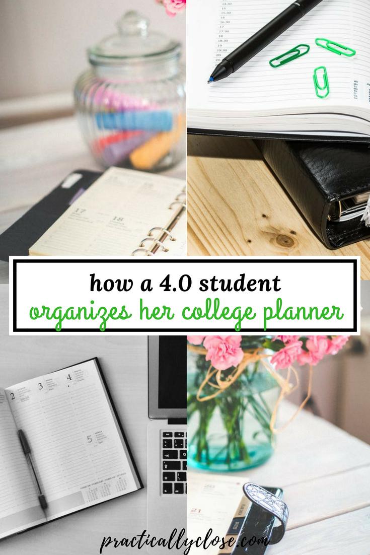 college planner organizer