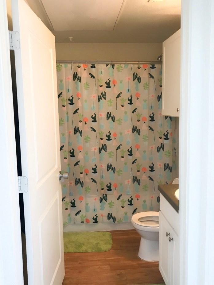 bathroom college apartment